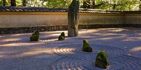 Backyard Pebble Gravel by Sand And Garden Portland Japanese Garden