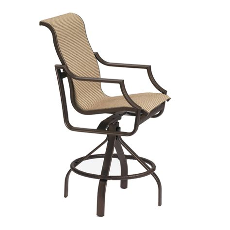 Bar Stool Patio Furniture by Outdoor Bar Stool By Tropitone Free Shipping