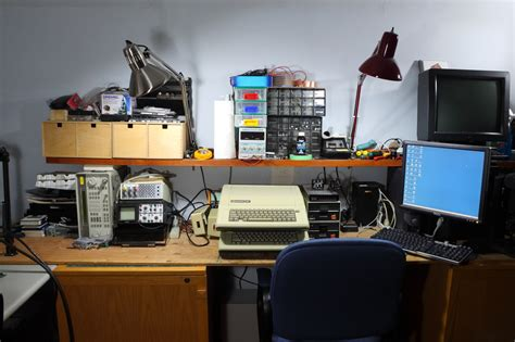 computer repair bench hackaday forums view topic post your bench