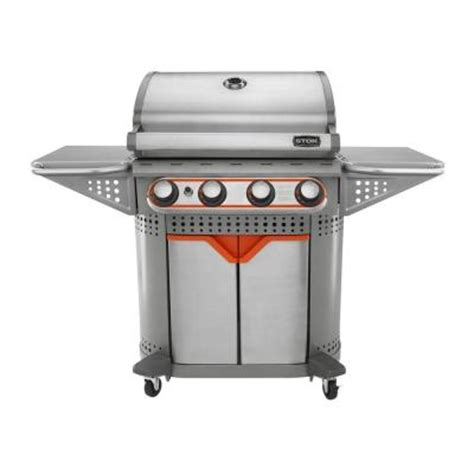 Home Depot Grills For Sale by Quattro 4 Burner Propane Gas Grill Sale 199 00 Buyvia