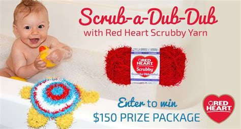 Redheart Com Sweepstakes - red heart scrub a dub dub sweepstakes knitty gritty savings