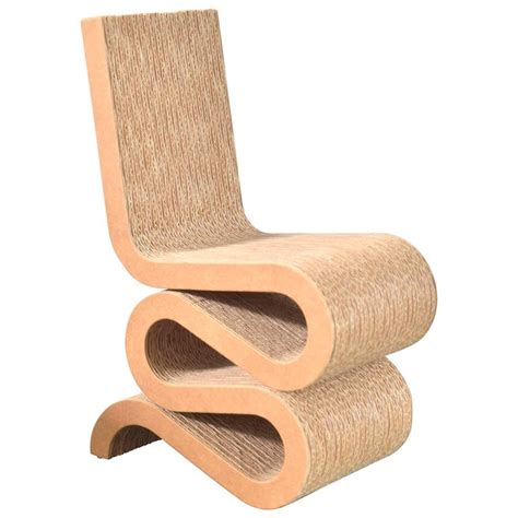frank gehry miniature wiggle side chair at 1stdibs