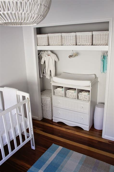uni baby rooms closet changing table neutral nursery white grey aqua white storage for unisex baby room