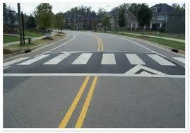 speed table vs speed hump traffic development neighborhood quality of