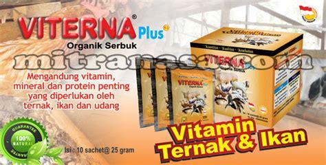 Viterna Ternak Nasa Serbuk Vitamin Untuk Mempercepat Pertumbuhan vitamin ternak ikan viterna plus organik serbuk