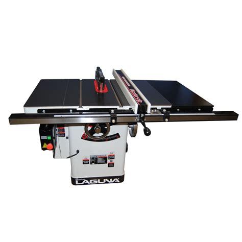 laguna table saw laguna platinum dovetail 10 quot tablesaw 30 quot rails