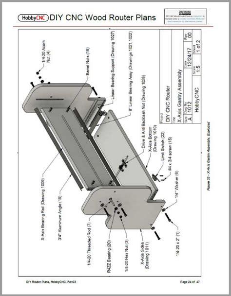 cnc plasma table plans pdf diy cnc router plans hobbycnc