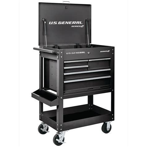 30 In 5 Drawer Black Mechanic S Cart