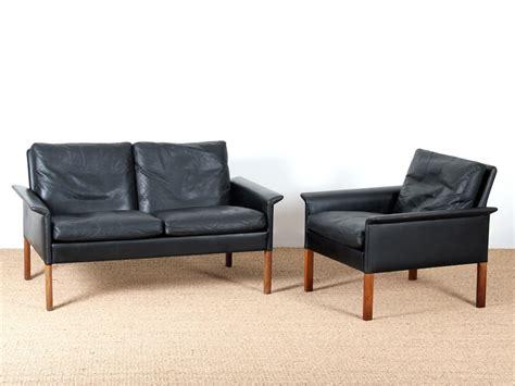 2 seater black leather sofa model 500 galerie m 248 bler