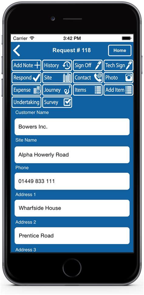 help desk software smartphone apps