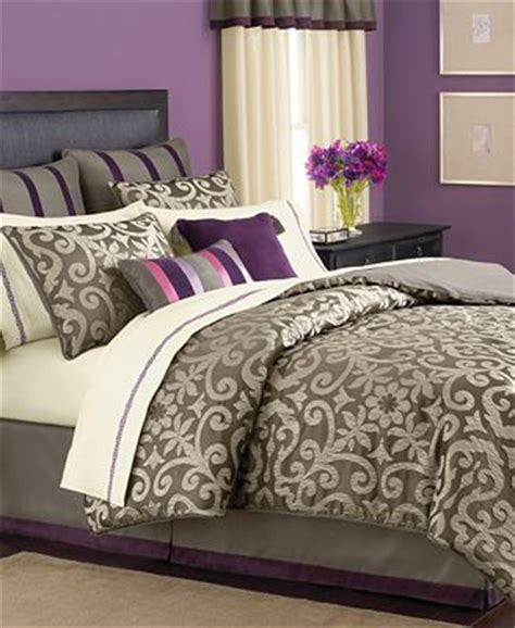 24 room in a bag martha stewart collection bedding brownstone damask 24 room in a bag bed in a bag bed