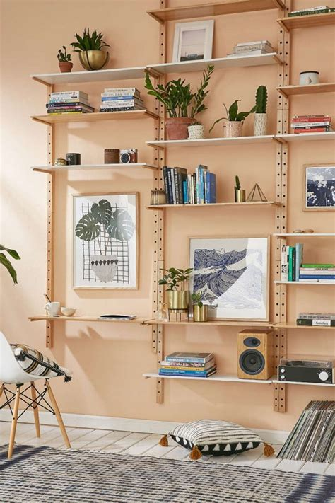 Home Interior Shelves 31 Unique Wall Shelves That Make Storage Look Beautiful