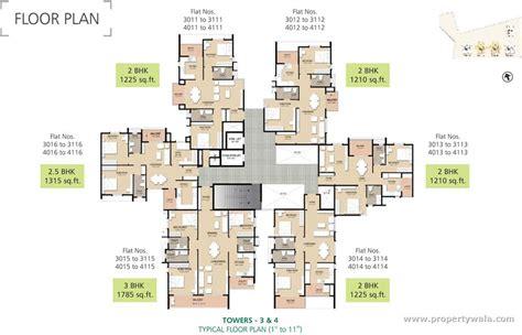 typical floor plan golden panorama kanakapura road bangalore residential
