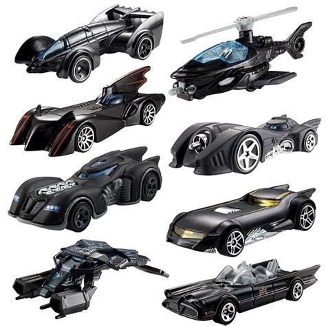 Wheels Car Lamborghini Batman Batmobile Fast Furious mattel hotwheels batman 75 years limited edition die cast 8 model vehicles set ebay