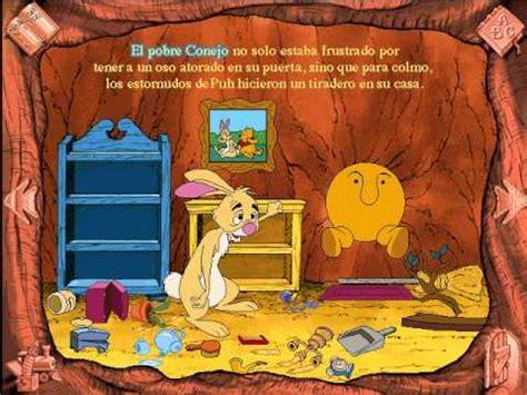libro winnie the pooh a5 libro animado interactivo winnie pooh espa 241 ol parte 3 youtube