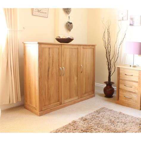 Large Shoe Storage Cabinet Mobel Shoe Cupboard Rack Large Storage Cabinet Solid Oak Hallway Furniture Ebay