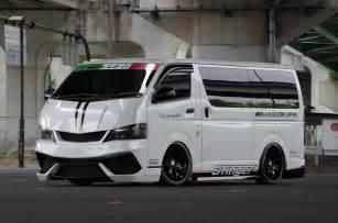 Toyota Custom S A D Custom Creates Lamborghini Like Toyota Hiace