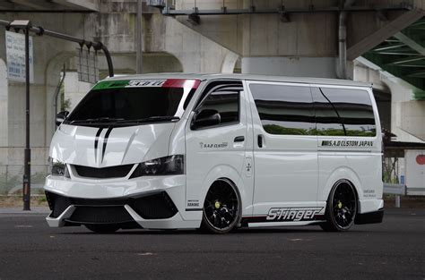Toyota Japan S A D Custom Japan Toyota Hiace Stinger 200hiace Is