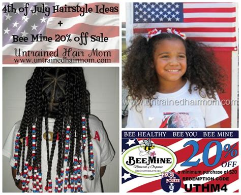 natural hair braids for kids fourth of july hairstyles 4th of july hairstyle ideas bee mine sale