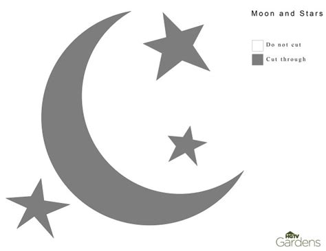 related keywords suggestions for moon and stars template