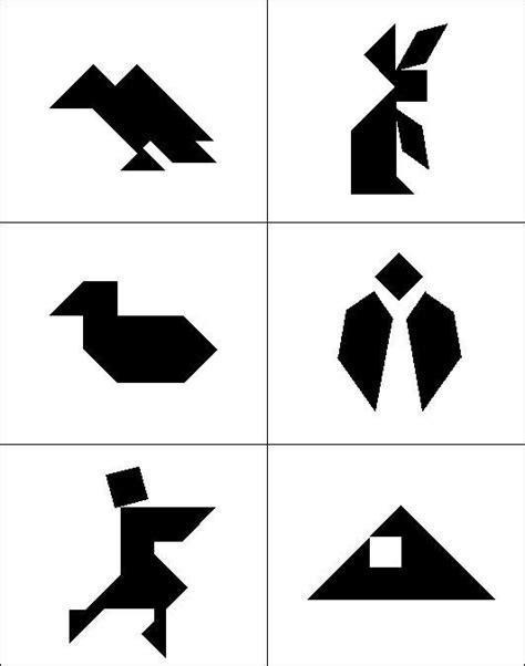tangram puzzle patterns printable eoropeza