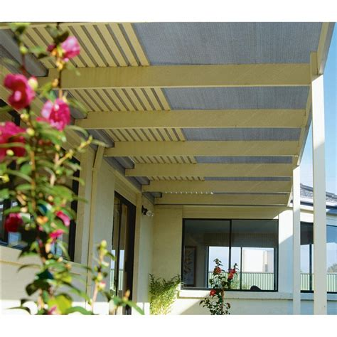 coolaroo blinds and awnings coolaroo 174 bulk sun shade fabric 176868 awnings