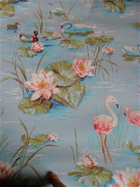 flamingo wallpaper retro vintage flamingo wallpaper flamingo pinterest