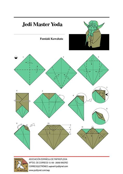 Origami Yoda Pdf - calam 233 o origami jedi master yoda