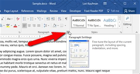 paragraph section how to stop a paragraph from splitting between pages in