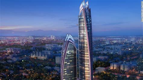 nairobi official site work underway on africa s tallest skyscraper in upperhill