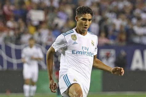 Real A by Achraf Hakimi Promoted To Real Madrid Team