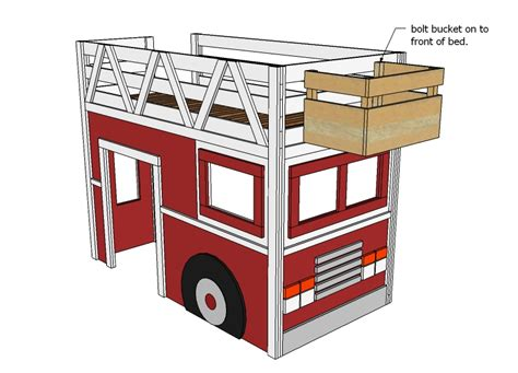 wood truck bed plans diy wooden fire truck bed plans plans free