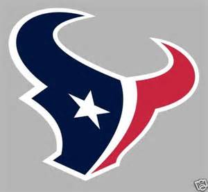 houston texans logo window wall sticker vinyl car decal