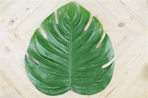 Vase Packaging Monstera Leaf Placemat