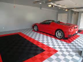 3 major options you can use as your garage floor tiles