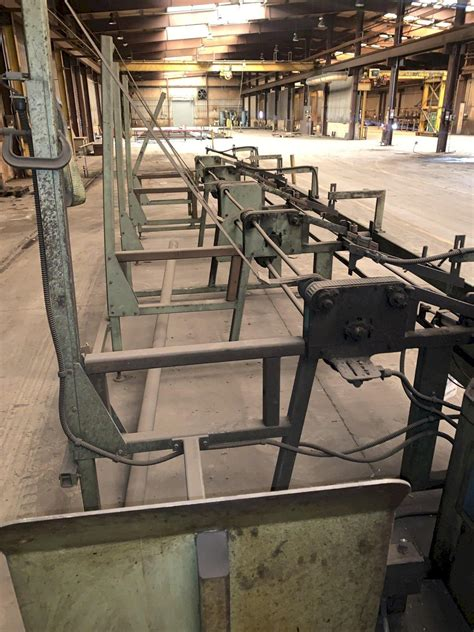 scotchman cnc cold  winfeed outfeed conveyor stock