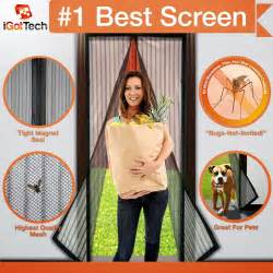 product review magnetic screen door by igottech