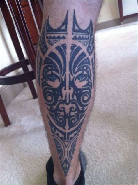 tribal tattoos for men legs 25 mind blowing leg tattoos for creativefan
