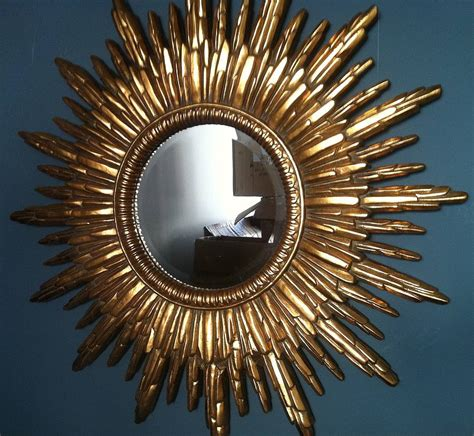 Copper Decor by Antique Gold Sunburst Mirror By The Forest Amp Co