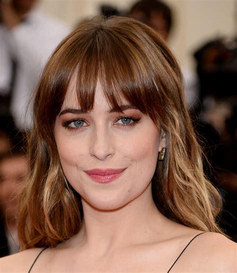 hair color trends 50 2015 fashion trend fringe dmaz 50 shades of grey star dakota johnson 45 fun facts