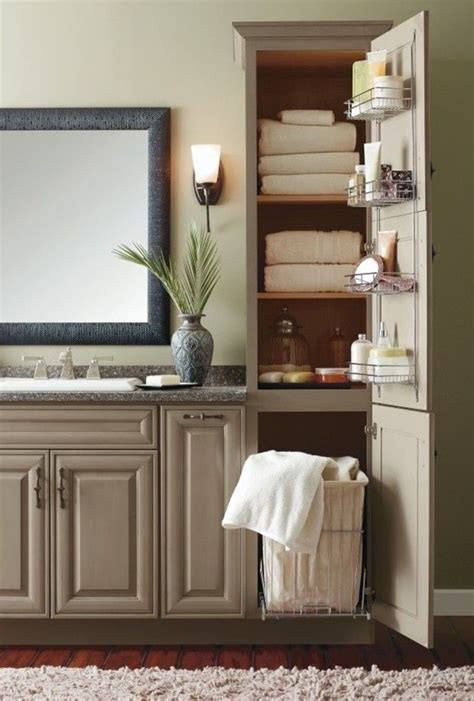 built in bathroom cabinet ideas best 25 bathroom linen cabinet ideas on