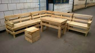 diy pallet patio or outdoor furniture set 101 pallets