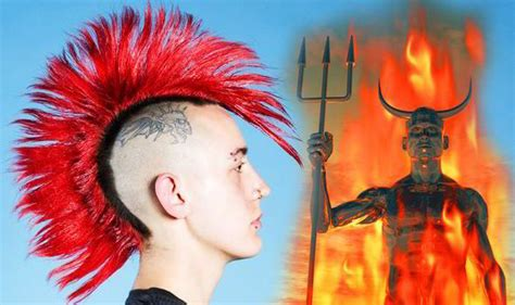 hair tattoo in islam islamic police cl down on spiky hair claiming it s