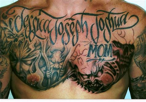 chest plate tattoo ink chest by margaret vogel