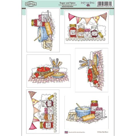 hobby house the hobby house daisy mae draws card toppers sugar and spice the hobby house from