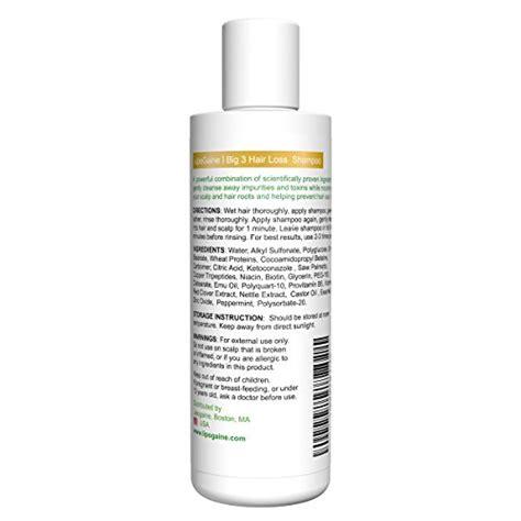 amazon 1 womens hair growth hair loss prevention vitamin lipogaine big 3 premium hair loss prevention shoo for