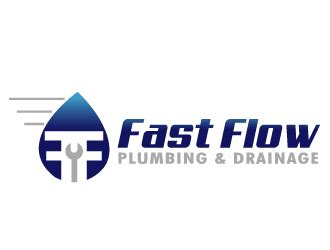 Fast Flow Plumbing by Fast Flow Plumbing Drainage Logo Design 48hourslogo