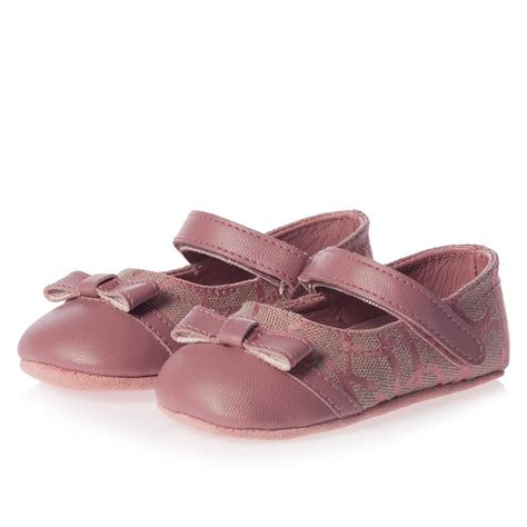 Fuchsia Prewalkerheels calvin klein baby pink pre walker shoes children boutique