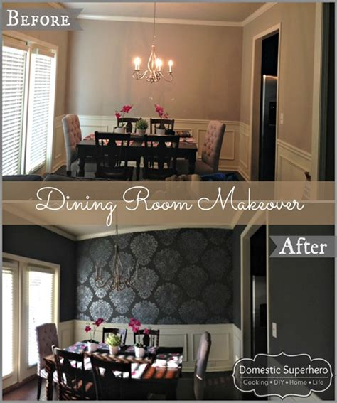 dining room makeover dining room makeover domestic superhero