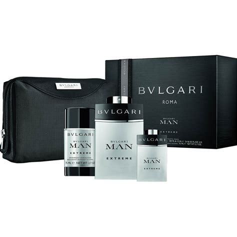 Set Bvlgari bvlgari pouch 4 pc gift set gifts sets for him gifts food shop the exchange